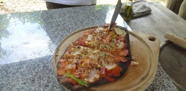 2018年 第3回 畦塗りと石窯ピザ